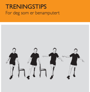 Treningstips for benamputerte