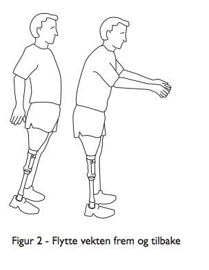 Viktig å trene balanse med protese etter amputasjon