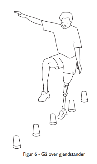 Avansert balansetrening med protese for benamputerte
